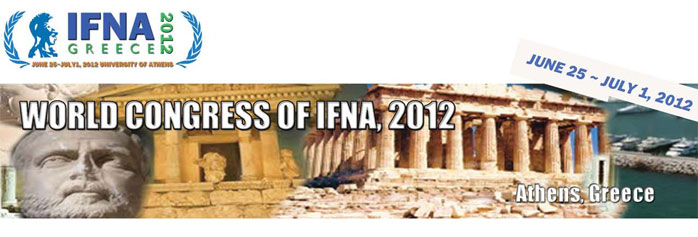 IFNA World Congress - Αthens, Greece 2012 A05-2t